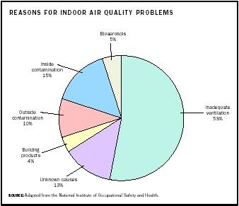 pollution and indoor air circulation Did you know you can filter indoor air with plants indoor air quality turns out, outdoor air pollution isn't the biggest offender either indoor air has been shown to be 2-5 times as contaminated as outdoor air in some places.