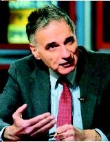Ralph Nader. (Alex Wong/Getty Images. Reproduced by permission.)